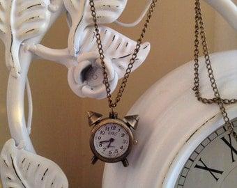 Alarm clock pendant