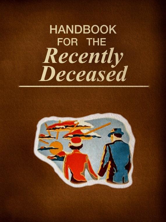 Handbook for the Recently Deceased Laminated by PlanTheDay ...