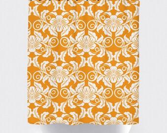 Orange Bathroom | Etsy