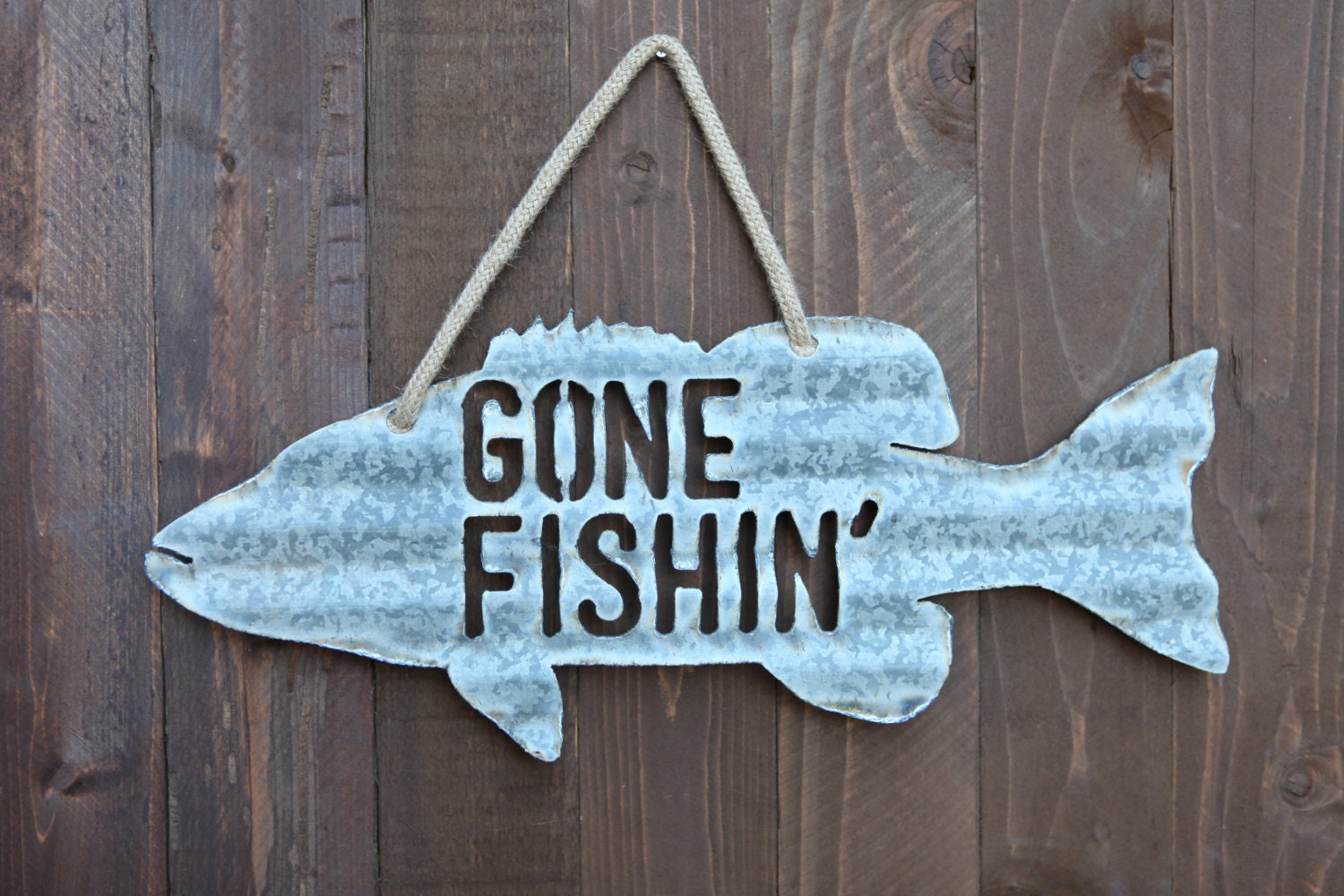 Gone fishin 39 sign for Gone fishing sign