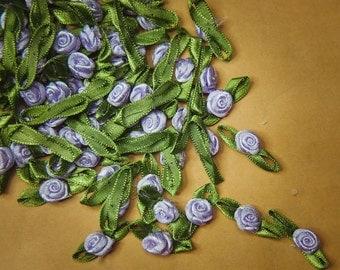 Ribbon Rose Applique - 100 Pieces #100036
