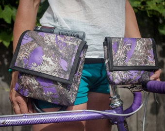 Purple Real Tree Hip Pouch