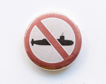 Scrap Trident button badge (25mm)