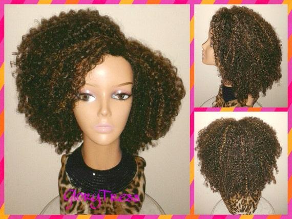 Curly Short Half Wigs 93