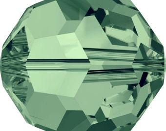Swarovski Crystal Round Beads 5000 - 3mm 4mm 6mm 8mm  - Erinite