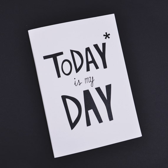 Today is my day - Motivational notebooks that will inspire you // The PumpUp Blog