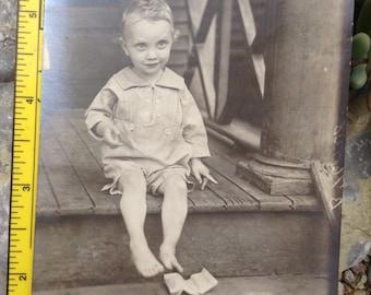 Vintage Photo b&w