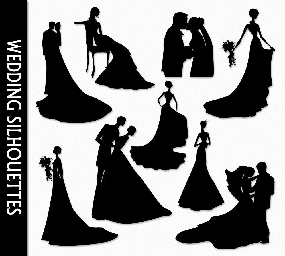 Wedding Clip Art Graphic Marriage Clipart Digital