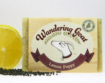 Lemon Poppyseed Goat Milk Soap