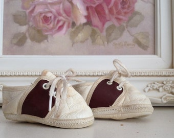 New Born-Babies Brown And White Saddle Oxfords