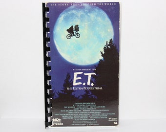 E.T. VHS Cover Notebook