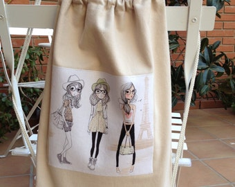 Canvas backpack / Canvas backpack