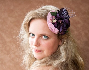 Pink Fascinator Orchid
