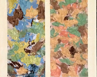 Diptych: abstracts # 21 & 22
