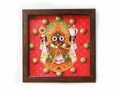 Hindu God Sri Jagannath Clock