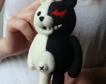 Danganronpa Monokuma anime bear Needle feled Cute Kawaii toy otaku  ダンガンロンパ