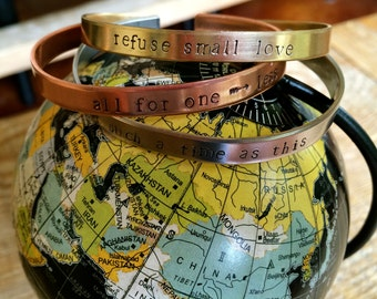 Bracelet {skinny cuff impact bracelet}