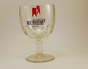 Vintage Michelob Beer Glass Goblet 10oz.