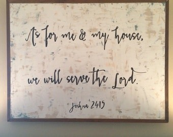 joshua 24:15 canvas