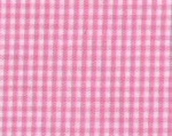 "Hot Pink Gingham, 1/16"" Hot Pink Gingham"