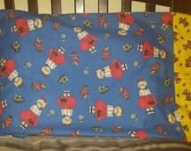 20 x 27 Poodle Skirt Girl Pillowcase