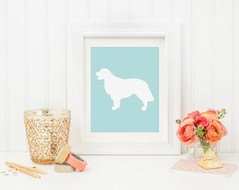 GOLDEN RETRIEVER PRINTABLE- Wall Art-Dog Lover-Instant Download-pdf