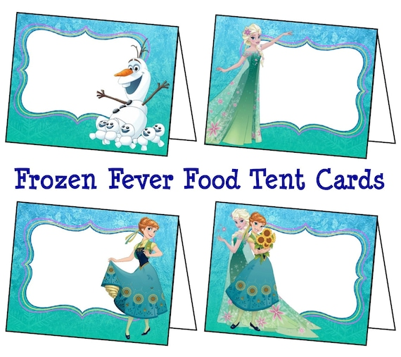 Disney Frozen Fever Food Labels Frozen Fever By ColtelloDesign