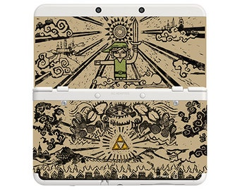 Cover Decal No. e04 (Wind Waker) for 3DS and XL