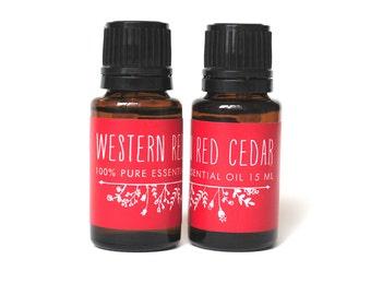 Western Red Cedar Essential Oil (15ml)