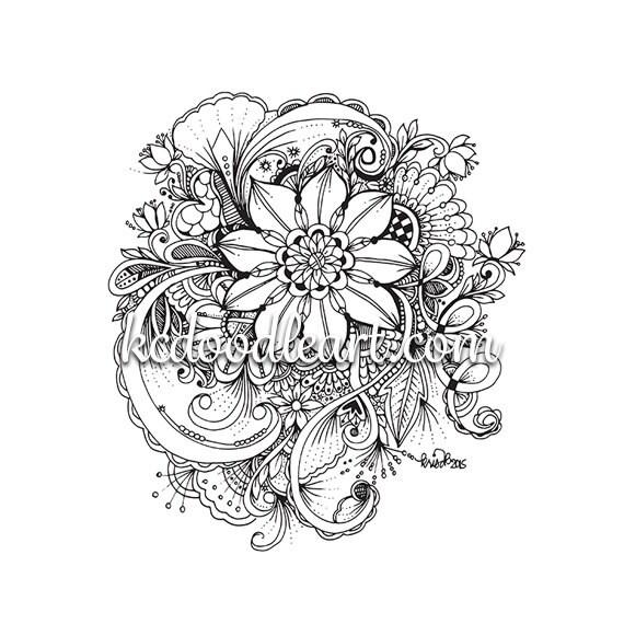 Colorare disegni del fiore for Disegni da colorare tumblr
