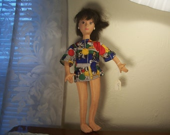 Vintage Hot Looks Doll By Mattel.