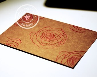 Handmade card - Rose 2