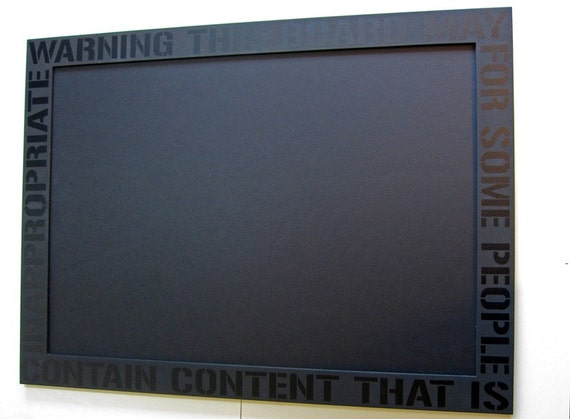 unique framed black pin board with decorative text modern. Black Bedroom Furniture Sets. Home Design Ideas