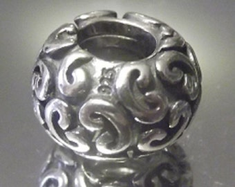 Authentic Pandora Sterling Silver Feeling Groovy Charm # 790400