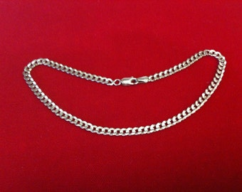 "10 K Yellow Gold Anklet  5.9 gm. 10 1/4"" Long."