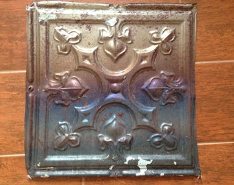 "LOT of 3- 12"" Vintage Tin Ceiling Tiles"