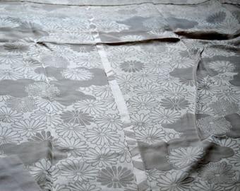 Japanese Vintage Authentic Silk Kimono Nagajyuban / 79