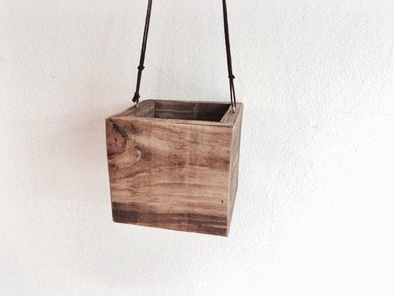 gorgeous hanging wood planter box tree