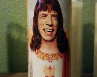Mick Jagger Saint Candle- St. Jagger