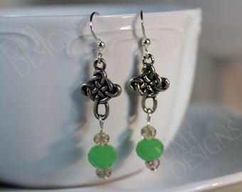 Celtic Jade Earrings