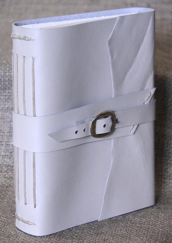 Handbound Leather Journal with Buckle Closure