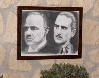The Godfather portrait