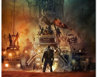 Mad Max: Fury Road (2015) What A Lovely Day Hi Res Movie Poster Print on Silk Wall Home Decoration 12x18 24x36 inch