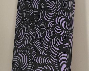Curls (Light Lilac) painting