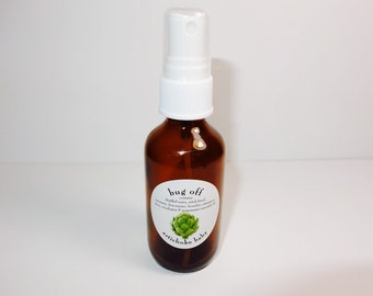 organic natural bug repellent spray,  prevent bites soothe skin, mosquitoes, essential oils