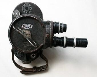 Bell & Howell Filmo 70-D 16 mm Camera