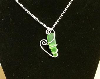 Love Sea Glass - green