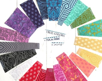 """Tula Pink True Colors 5"""" Charm Pack"""
