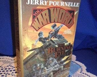 1990 Jerry Pournelle - War World Vol. 1 The Burning Eye - Bean Books