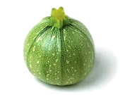 Organic Zucchini seeds, light green round Zucchini heirloom seeds, home grown Ronde De Nice squash seeds, 10 seeds